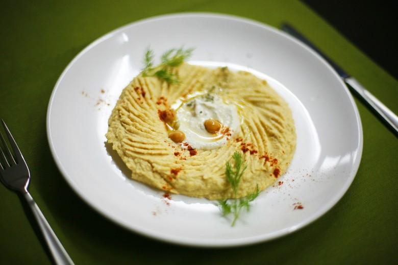Рецепт: Хумус из нута.
