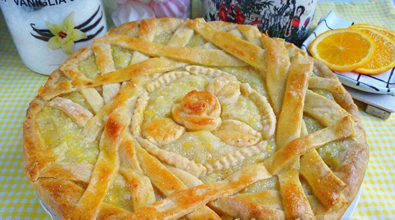 Лимонный пирог — нежный и мягкий вкус