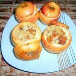 Десерт яблоки в духовке от Armina Bars