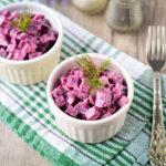 Салат «Рубин» из свеклы — яркий внешний вид и неповторимый вкус