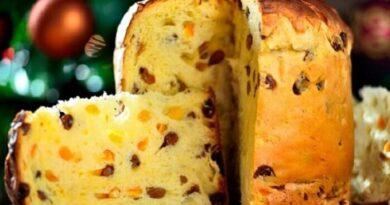 Итальянский пасхальный кекс Панеттоне (быстрый рецепт).