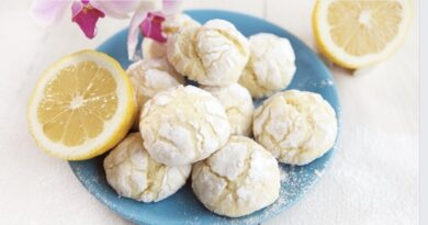 Лимонное печенье - простой рецепт печенюшек, с приятным, необычным вкусом (wink)