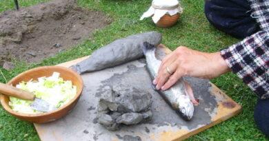 ryba-v-gline