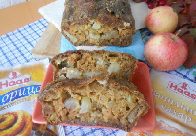 Яблочный кекс с крустильяном – пошаговый рецепт с фотографиями