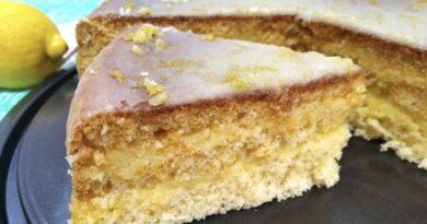 """Торт """"Лимончелло"""""""