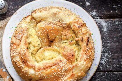 Греческий пирог-улитка, который можно печь хоть каждую неделю - не приедается