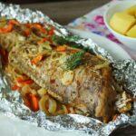Рыба запеченная в фольге в духовке