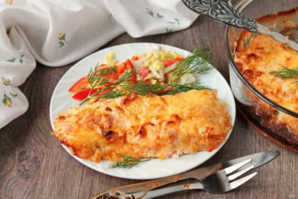 Форель с сыром в духовке