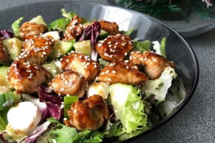 salat-s-kuricej-teriyaki