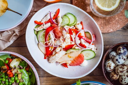 salat-s-kuricej-grejpfrutom-i-grushej