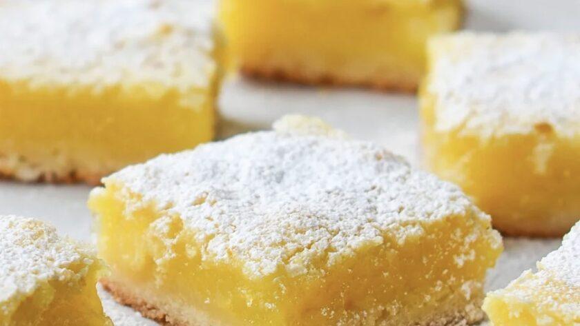 """Очень вкусные и нежные лимонные пирожные """"Мимозки"""" ! Не сложно, полезно и красиво!"""