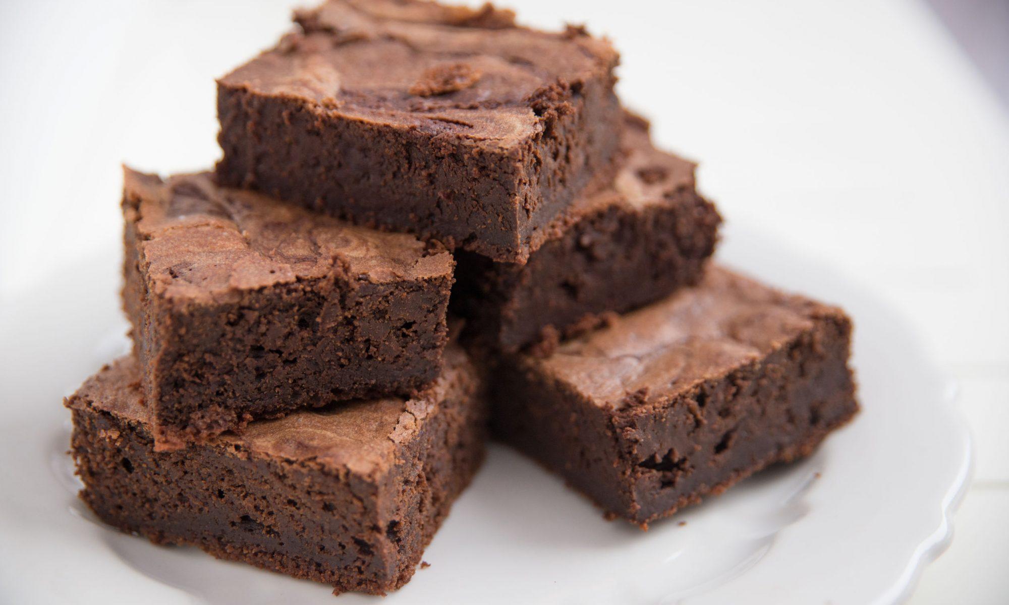 Классический шоколадный брауни