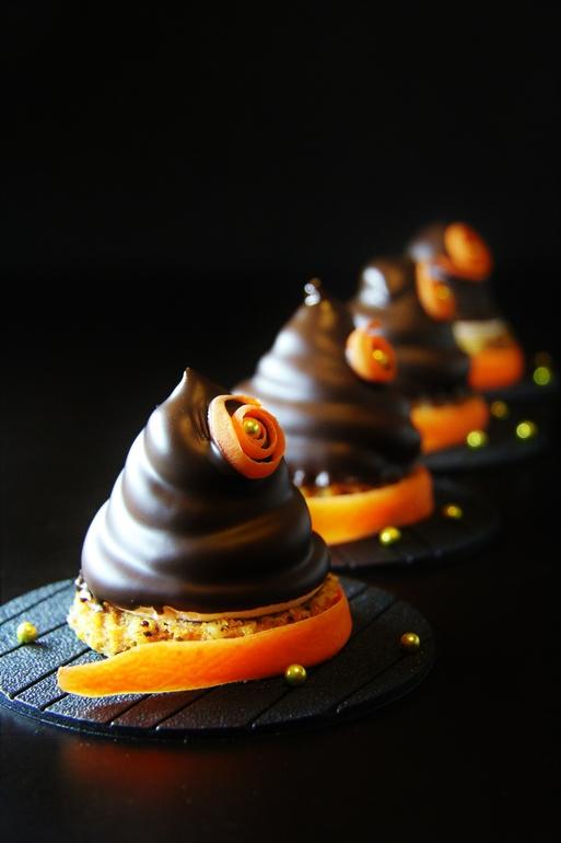 Десерт Carrot cloud и зефир