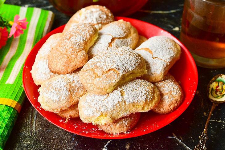 Печенье «Дамские пальчики» — красивое и аппетитное