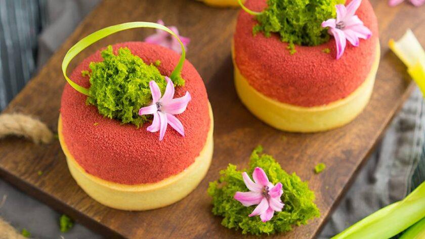 Современный муссовый десерт: тарт Малибу