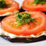 Бутерброды из баклажан