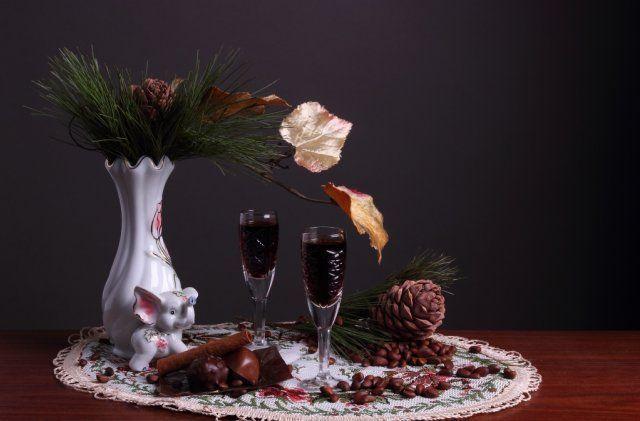 Кедровая настойка на спирту