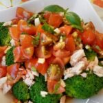 Салат с тунцом и брокколи