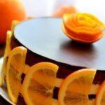 """Шоколадно-апельсиновый торт """"Зима, до встречи!"""""""
