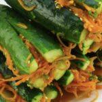 Закуска «огурцы по-корейски»