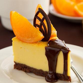 Апельсиновый чизкейк