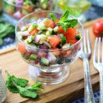 Салат «Ширази» — вкусный рецепт иранской кухни
