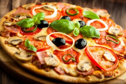 Самые вкусные блюда-Пицца