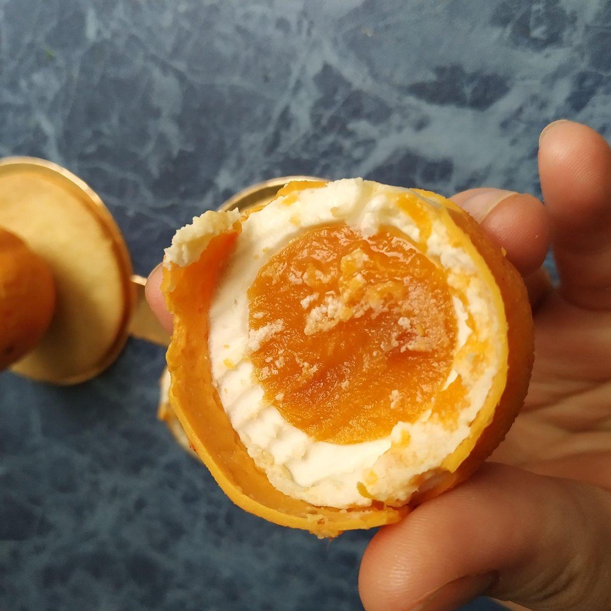 Муссовое пирожное «Абрикос»