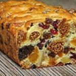 Яркий вкусный и полезный кекс из сухофруктов