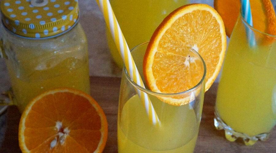 Цитрусовый морс из лимона и апельсина — витаминный напиток