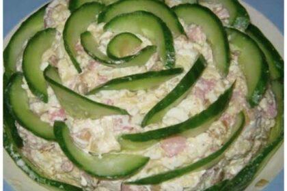 Салат «Изумрудный» — Вкусно и красиво!