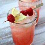 Малиновый лимонад с лимончелло