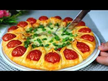 Рецепт очень простой, а пирог получается шикарный! Вы легко сможете приготовить этот рецепт!
