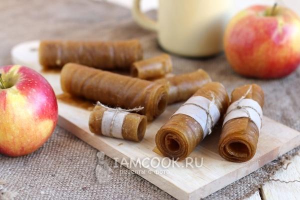 Пастила из яблок в духовке