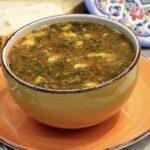 Суп из говядины с картофелем и чипетками