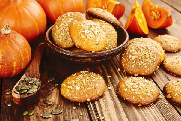 Рецепт тыквенного печенья в духовке